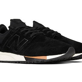 New Balance - 247 'Pig Suede' - Black/White/Tan