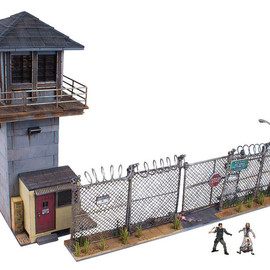 McFARLANE TOYS - WALKING DEAD TV USTOYSRUS限定 BUILDING SETS PRISON TOWER & GATE