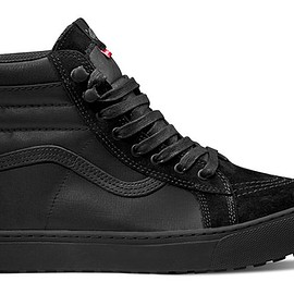 THE NORTH FACE, VANS - Sk-8 Hi - Black/Black