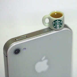 fingerfooddelight - Kawaii STARBUCKS TEA Iphone Earphone