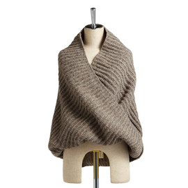 beautiful people -  melange tweed knit snood