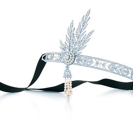 Tiffany & Co. - The Great Gatsby Collection「サヴォイ ヘッドドレス」