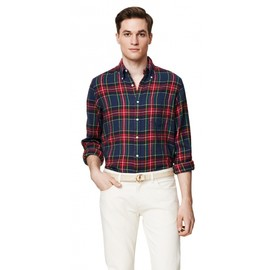 Gant Rugger - SLUB FLANNEL E-Z BUTTON DOWN