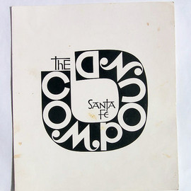 "Alexander Girard - ""The Compound"" Restaurant Menu"