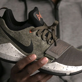 NIKE - PG 1 - Olive/Orange/Black