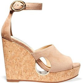 Jimmy Choo - Neyo suede wedge sandals