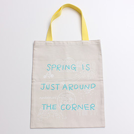 bulle de savon - KVELLオックス 春が来る トートバッグ (KVELL SPRING COMES TOTE)