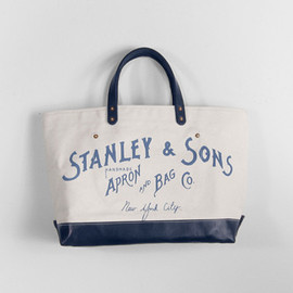 Stanley & Sons - LEATHER BOOT LOGO TOTE