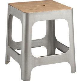 CB2 - hitch raw stool