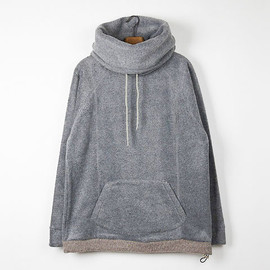 VOO - FLEECE TURTLE HOODY
