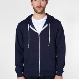 American Apparel - Flex Fleece Zip Hoody Navy