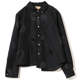 BEAMS BOY(ビームスボーイ)「maturely / YIN-YANG Dot Joint Shirts(シャツ/ブラウス) - BEAMS BOY(ビームスボーイ)「maturely / YIN-YANG Dot Joint Shirts(シャツ/ブラウス)