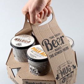 Student Work – Ivan Maximov - Packaging design and re branding for the Mug Pub