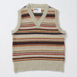 MHL. - REMNANTS YARN VEST