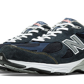 New Balance - New Balance Denim 990v3, Denim Blue with Grey