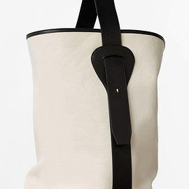 CELINE - Large Canvas Bucket Bag