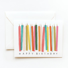 Rifle Paper co. - Birthday Candles Card