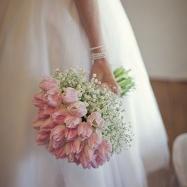 Tulips wedding bouquet