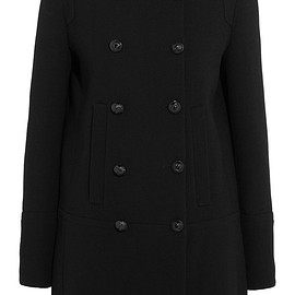 Chloé - Resort 2016 Double-breasted wool-crepe coat