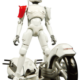 MEDICOM TOY - WHITE CRUSHER and NEU-RON SPEEDER / THE MAD CAPSULE MARKETS