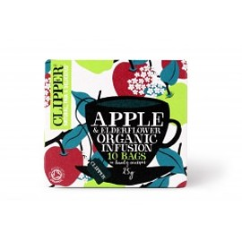 CLIPPER - apple & elderflower organic infusion
