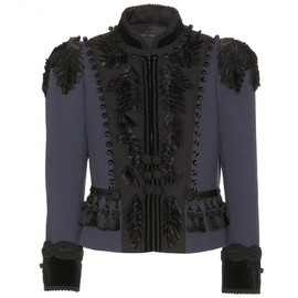 MARC JACOBS - SS2014 Doubleface Lightweight Wool Fitted Victorian Jacket