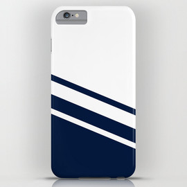 Society6, So Kawaki - Navy Line iPhone & iPod Case
