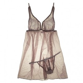Fleur't - April Romance Babydoll with G-String