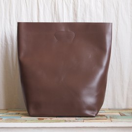 Hender Scheme - not eco bag big #dark brown