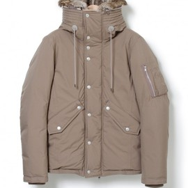 nonnative - TROOPER HOODED DOWN BLOUSON