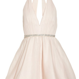 ALICE + OLIVIA - Brooke silk-chiffon and silk-organza dress