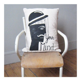 "Marcel Wanders - Coussin ""Open your mind"""
