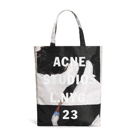 Acne - Ross h.k black / white swan