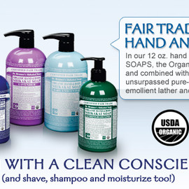 Dr.BRONNER'S - Dr. Bronner's Hand and Body Soaps