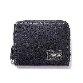 "HEAD PORTER - ""BAILIO"" WALLET (M) BLACK"