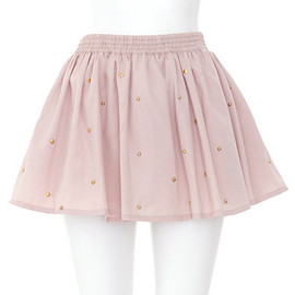 Candy Stripper - ABOUT A GIRL CULOTTE | PINK
