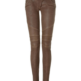 Balmain - Low Rise Leather Pants (for Arrow)