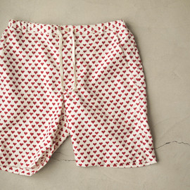 "Bohemians - POLY SHORTS ""MINIMINI""♯RED"