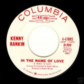Kenny Rankin - In The Name Of Love / Haven't We Met PROMO 7inch