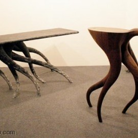 Chul An Kwak - Wooden tables with legs