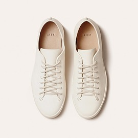 FEIT - Hand Sewn Low White Semi Cordovan