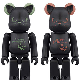 MEDICOM TOY - 2016 HALLOWEEN BE@RBRICK 100% 緑/赤