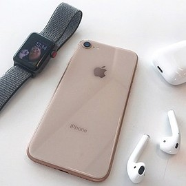 Apple - iPhone 8 & Apple Watch Series 3 & Air Pods