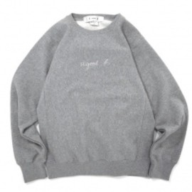 Goodblank - a good b Crew Sweat Heather Grey
