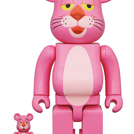 MEDICOM TOY - BE@RBRICK PINK PANTHER 100% & 400%