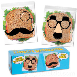 Accoutrements - LUNCH DISGUISE SANDWICH BAGS