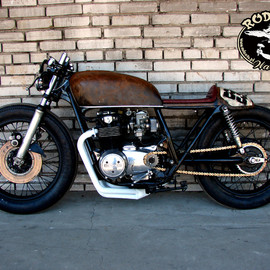 Rafal Rodents, HONDA - CB550 Four mix of cafe and bratstyle
