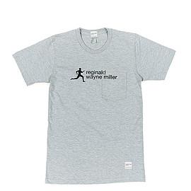 NEPENTHES NEW YORK - Printed T-shirt-Miller-Grey
