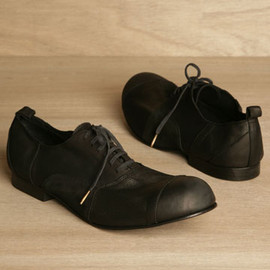 COMME DES GARCONS HOMME PLUS -  PATCHWORK LACE-UP SHOES