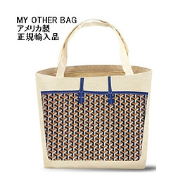 My Other Bag - My Other Bag マイアザーバッグ アメリカ製 トートバッグ SOPHIA BLUE エコバッグ キャンバス 人気 正規品 海外ブランド|beautejapan2